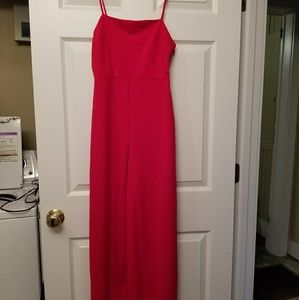 Urban Outfitters Red Jumpsuit size M